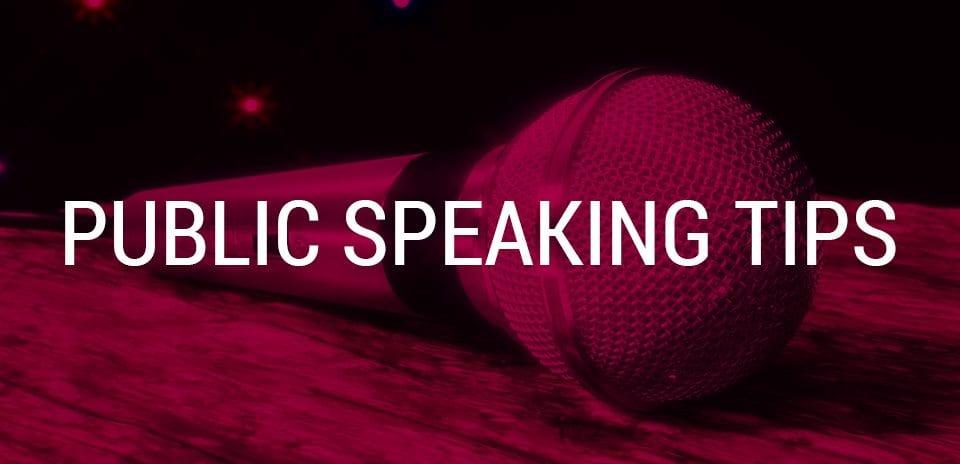nine tips for public speakers who hate public speaking